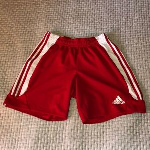 Men's Red Adidas Shorts